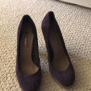 Zara purple heels size 37